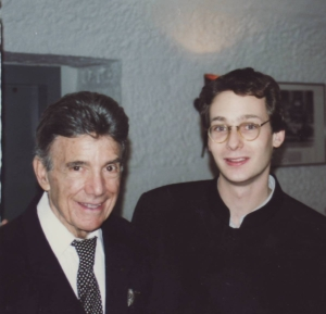 Nicolas Gilliet with Louie Bellson at Marians' Jazzroom Bern, 1996