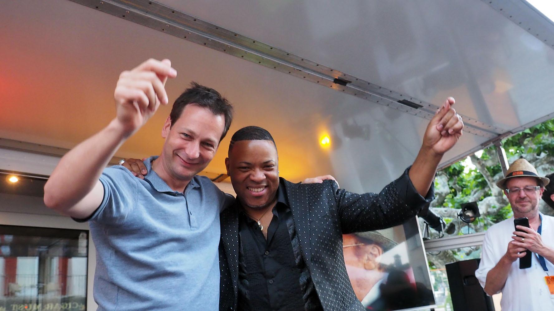 with Davell Crawford, Ascona Jazz Award 2016