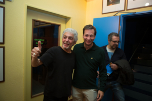 with Steve Gadd at Jazz Cat Club Ascona 2017