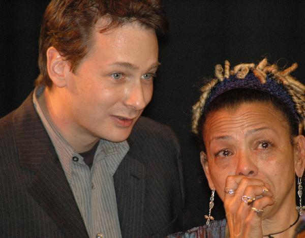 Nicolas Gilliet with Lillian Boutté