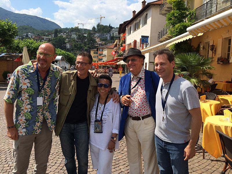 Dado Moroni, Gegè Telesforo, Lillian Boutté, Renzo Arbore and Nicolas Gilliet
