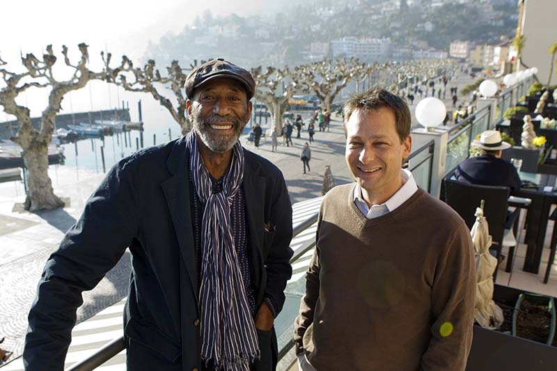Swiss Jazz Award. Nicolas gilliet with Pepe Liebrand