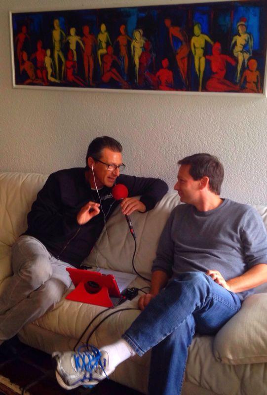Nicolas Gilliet with Gegè Telesforo