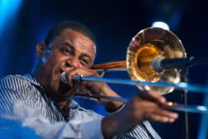 Glen David Andrews, trombone & vocals