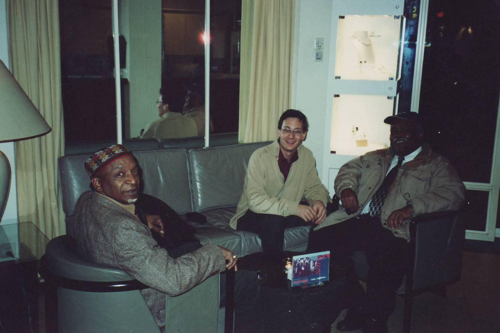 Nicolas Gilliet with Bobby Durham and Ray Bryant at International Jazzfestival Bern